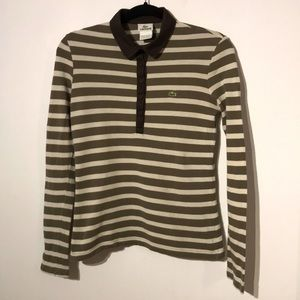 Lacoste stripes long sleeve